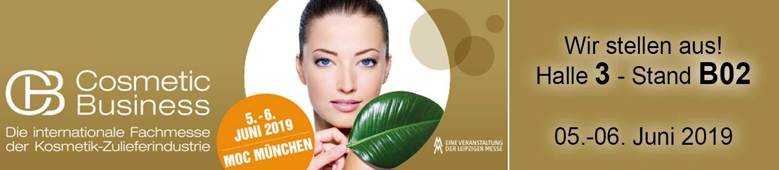 Cosmetic Business in München - Beautyspa stellt aus